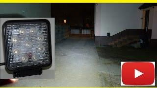 LAMPA ROBOCZA LED DIODOWA SZPERACZ HALOGEN 9 led L0077