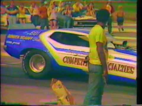 Boundary Bay Raceway 1975 - Jerry Ruth funny car round 2 bye run