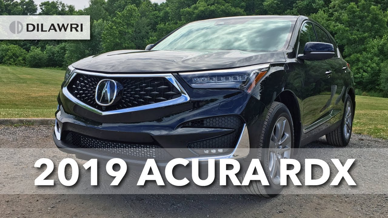 2019 Acura Rdx Platinum Elite Review Youtube