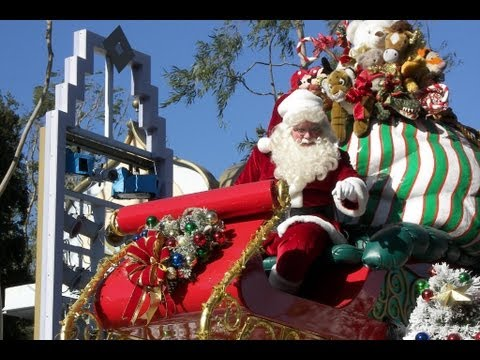 The Complete 2016 Christmas Fantasy Parade at Disneyland - YouTube
