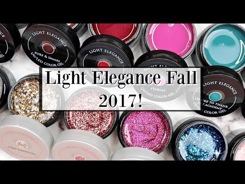 Light Elegance Fall 2017 - Swatches and Comparisons!