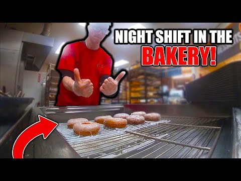 LET'S GET THIS BREAD 💰  | MY JOB IN A BAKERY & MAKING DONUTS! | Bakery Vlog Ep. #1