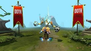 Dota 2 Tinker - Mecha Boots of Travel Mk III kinetic gem preview
