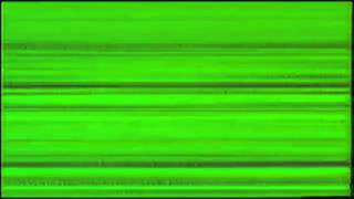 REAL AND FREE VIDEO - VHS EFFECTS AND GLITCHES on Greenscreen (green screen background)
