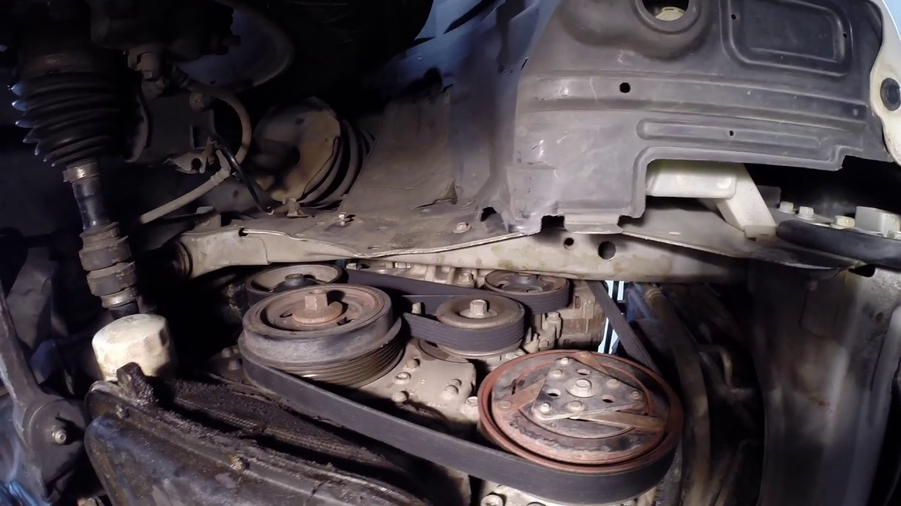 Nissan Xtrail Drive Belt Replacment