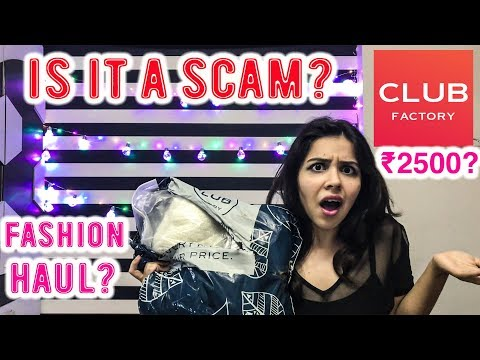 Club Factory Fashion Haul & Review - Online Shopping In India | Heli