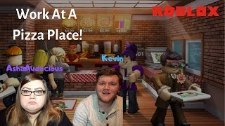 HUSBAND TRIES TO GET WIFE FIRED! (ROBLOX Work at a Pizza Place)