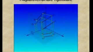 Взаимное расположение двух прямых, прямой и плоскости, двух плоскостей
