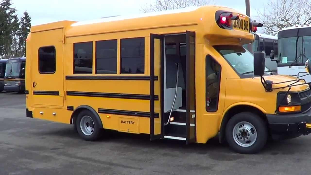 Northwest Bus Sales - NEW 2014 Chevrolet Starcraft Quest ...