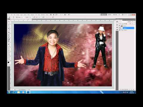 Photoshop CS5 - Phan 1 - Bai 13 - Ung dung Ghep phong xanh
