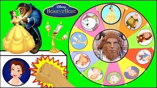 BEAUTY AND THE BEAST Toys Spinning Wheel Game | Surprise Toys, Dolls from Disney Movie