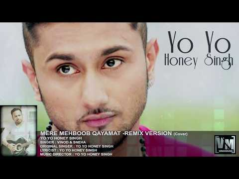 Mere Mehboob Qayamat - Yo Yo Honey Singh | Cover By Vinod & Sneha