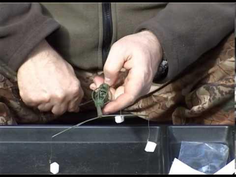 монтаж с коромыслом для ловли леща