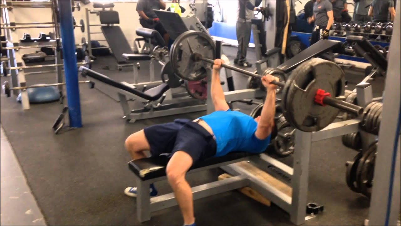 Bench Press 225 Lbs For 20 Reps 180 Lbs Youtube