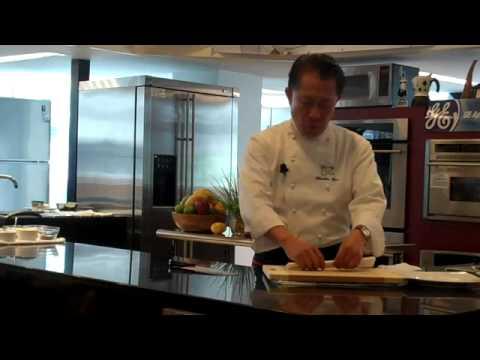 A Martin Yan Cooking Show in GE Showroom Manila