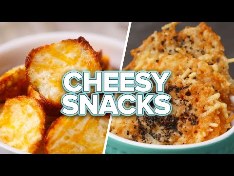6 Cheesy Low-Carb Snacks