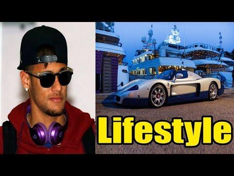 Neymar Lifestyle, School, Girlfriend, House, Cars, Net Worth, Salary, Family, Biography 2017