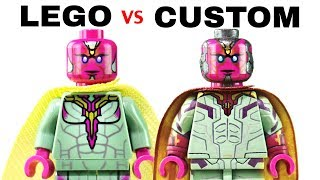 LEGO AVENGERS INFINITY WAR : Official Minifigs vs. Customs - EP5