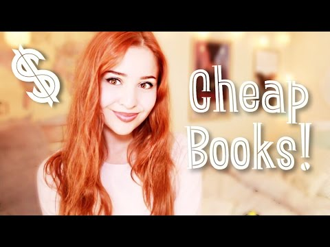 Places To Find Cheap Books!