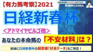 【日経新春杯2021 有力馬考察】アドマイヤビルゴ他 人気馬5頭を徹底考察!