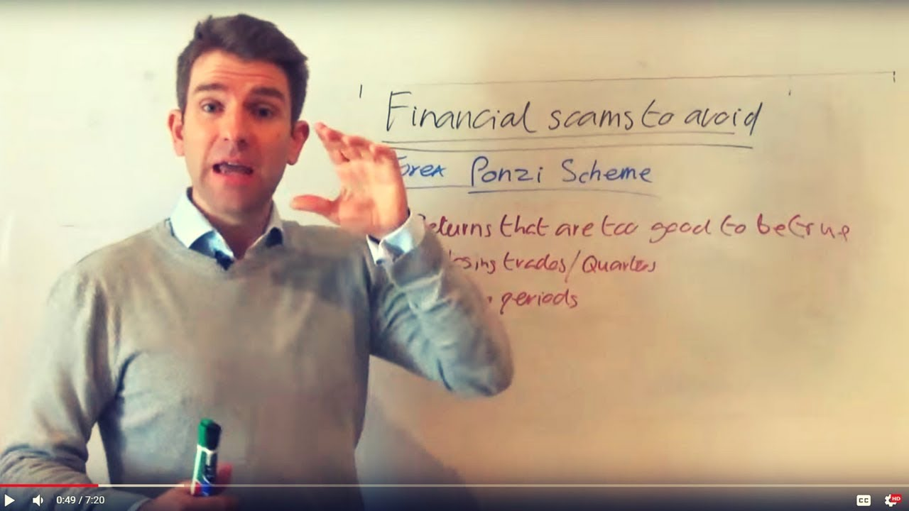 Is forex a ponzi scheme