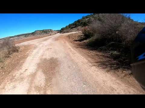 "Husqvarna  y KTM  enduro  ""ruta Gudar"""