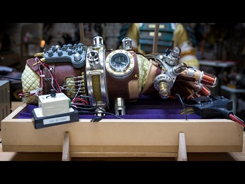 Adam Savage's Hellboy Mecha-Glove Replica