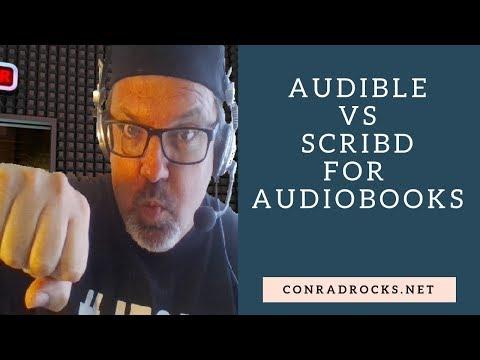 Audible Versus Scribd for AudioBooks - YouTube