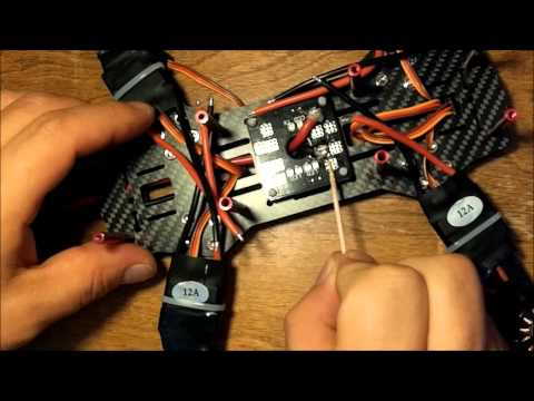 QAV250 PDB ESC soldering