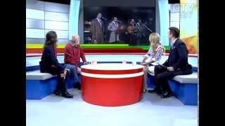 CTV.BY: Представители двух поколений легендарного коллектива «Песняры» Леонид Тышко и Олег Аверин