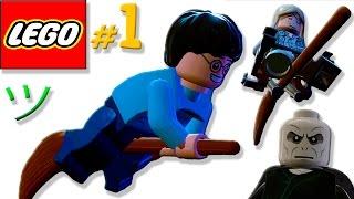 Лего Гарри Поттер [1] Смешная озвучка   Мультик игра   Семен Плей не Жестянка 😁