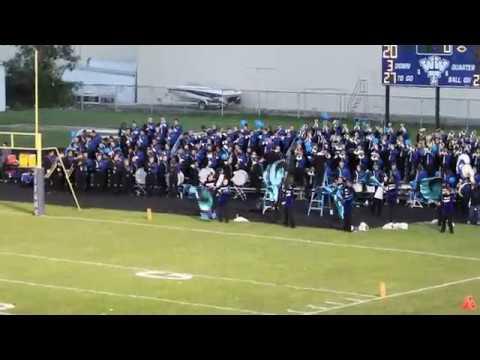 Warren Woods Tower High School Band vs. Clintondale 9-21-18