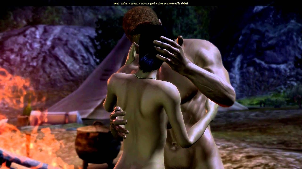 Dragon age origin sex video