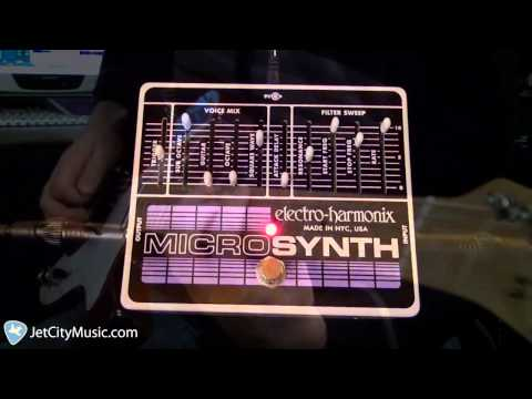 EHX com | Micro Synthesizer - Analog Guitar Microsynth
