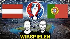 Wir spielen Euro 2016: Österreich vs. Portugal (9 Tore)
