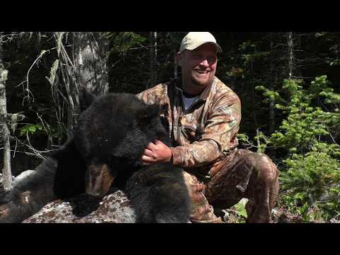 New Brunswick Black Bear Hunt - Kevin Bourgoin - June 16, 2018