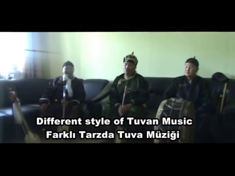 Different style tuvan music
