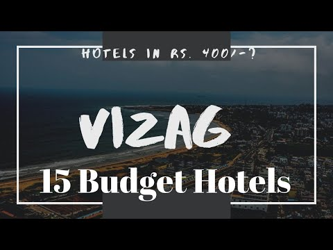 HOTELS IN VAIZAG || 15 BUDGET HOTELS