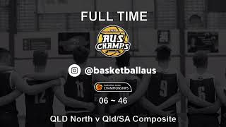 AusChamps U18 - Game 76 - Kevin Coombs Cup - QLD/SA Composite v Queensland North