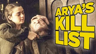 Game Of Thrones: Arya's Kill List - Where Are They Now?
