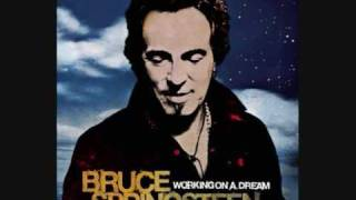 Bruce Springsteen  - The Wrestler w/lyrics