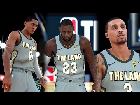 NBA 2k18 - New Look Cavaliers vs Boston Celtics | Cavs trade Half the Roster! (4k 60fps)