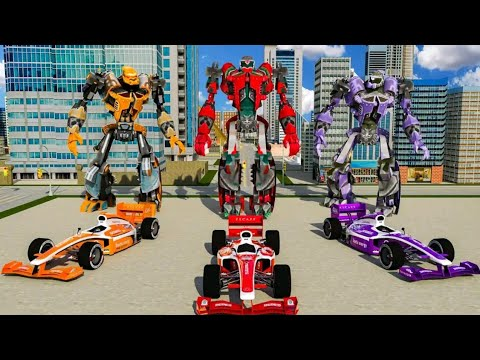 Tobot Transformer Robot Tobot Bisa Jadi Mobil Balap Formula Satu Bisa Terbang Youtube