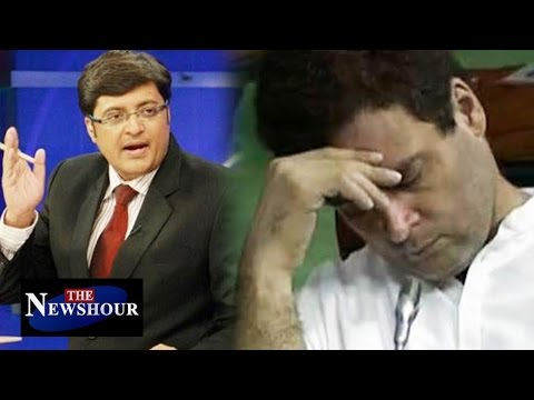 Rahul Gandhi SLEEPING in Parliament: The Newshour Debate (20th July 2016)