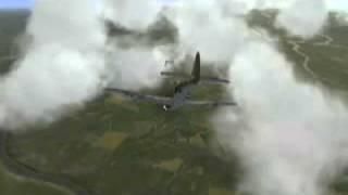 IL-2 Sturmovik Forgotten Battles: P-47 shootdown