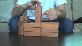Magnetic Wooden Toys From Tegu - Building A Steamboat