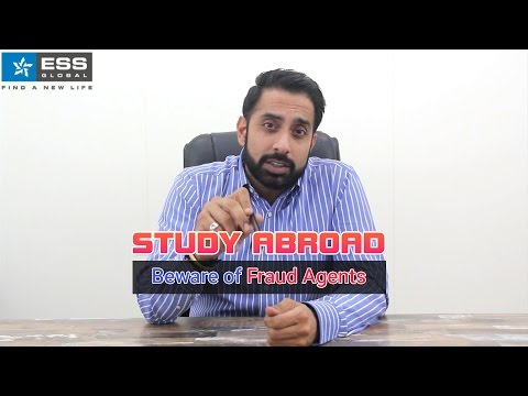 Study Abroad - Beware of Fraud Agents