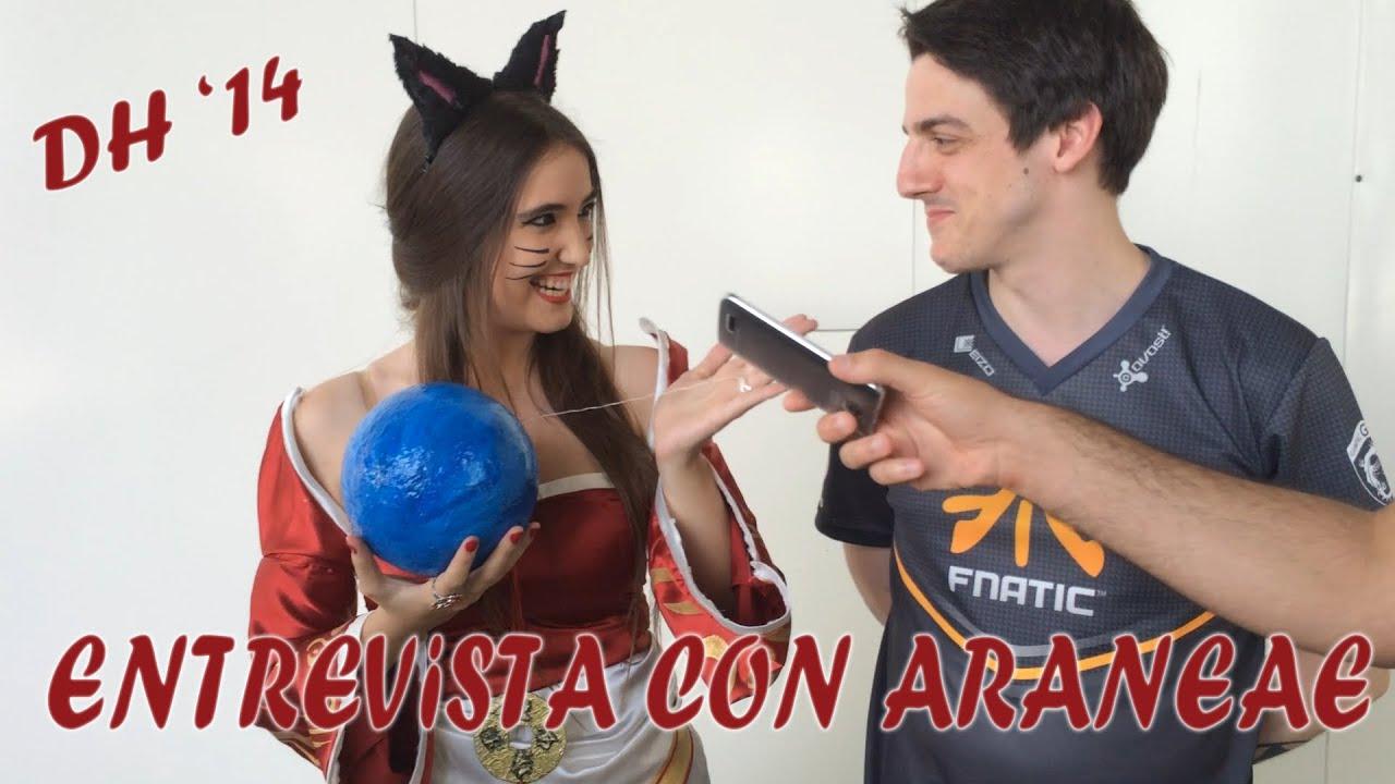 Entrevista Con Araneae Para Zona Gamer | CBassi Ahri ...