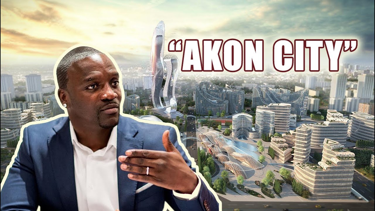 AKON CITY - RnB Artist Akon Building His Own City In Senegal - YouTube
