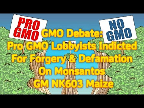 GMO Debate: Pro-GMO Lobbyists Indicted For Forgery And Defamation On Monsanto's GM NK603 Maize Test